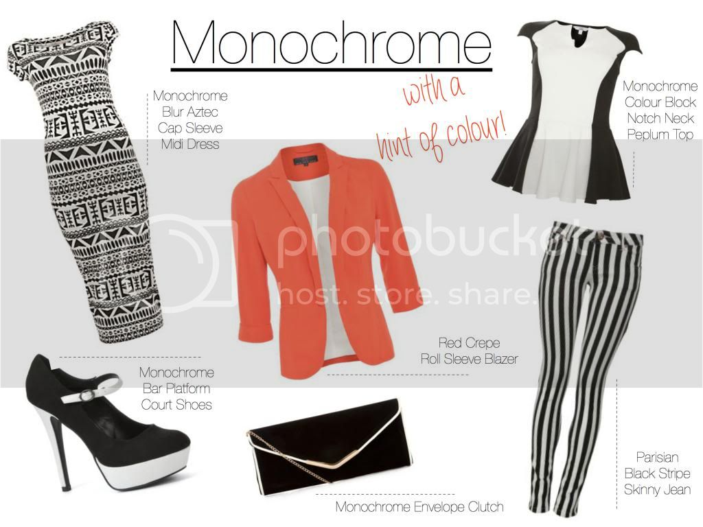 Monochrome Fashion Trend Blog